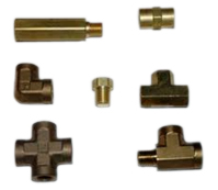 exporter of brass fittings parts