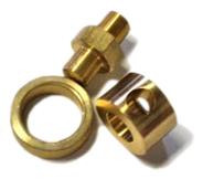 fitting parts of brass