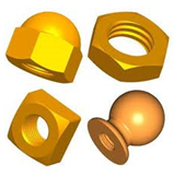 brass nuts supplier