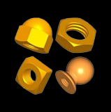 Brass nuts and bolts manufacturer india